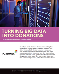 Turning Big Data Into Donations